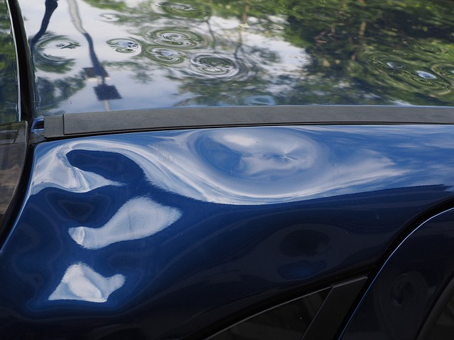 OC Dent Repair can repair dents like the one in this picture